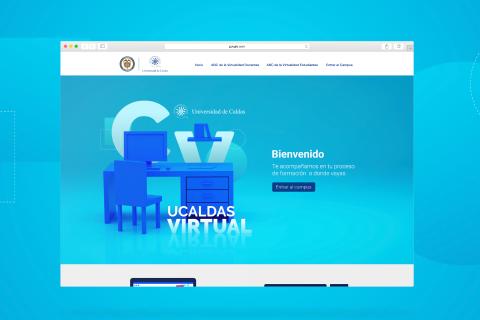 Colaboración con Universidad de Caldas: proyecto U.Caldas Virtual